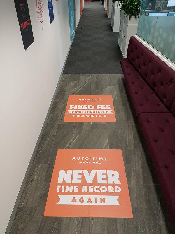 Floor Decals Outdoor Amp Indoor Floor Stickers Tailored